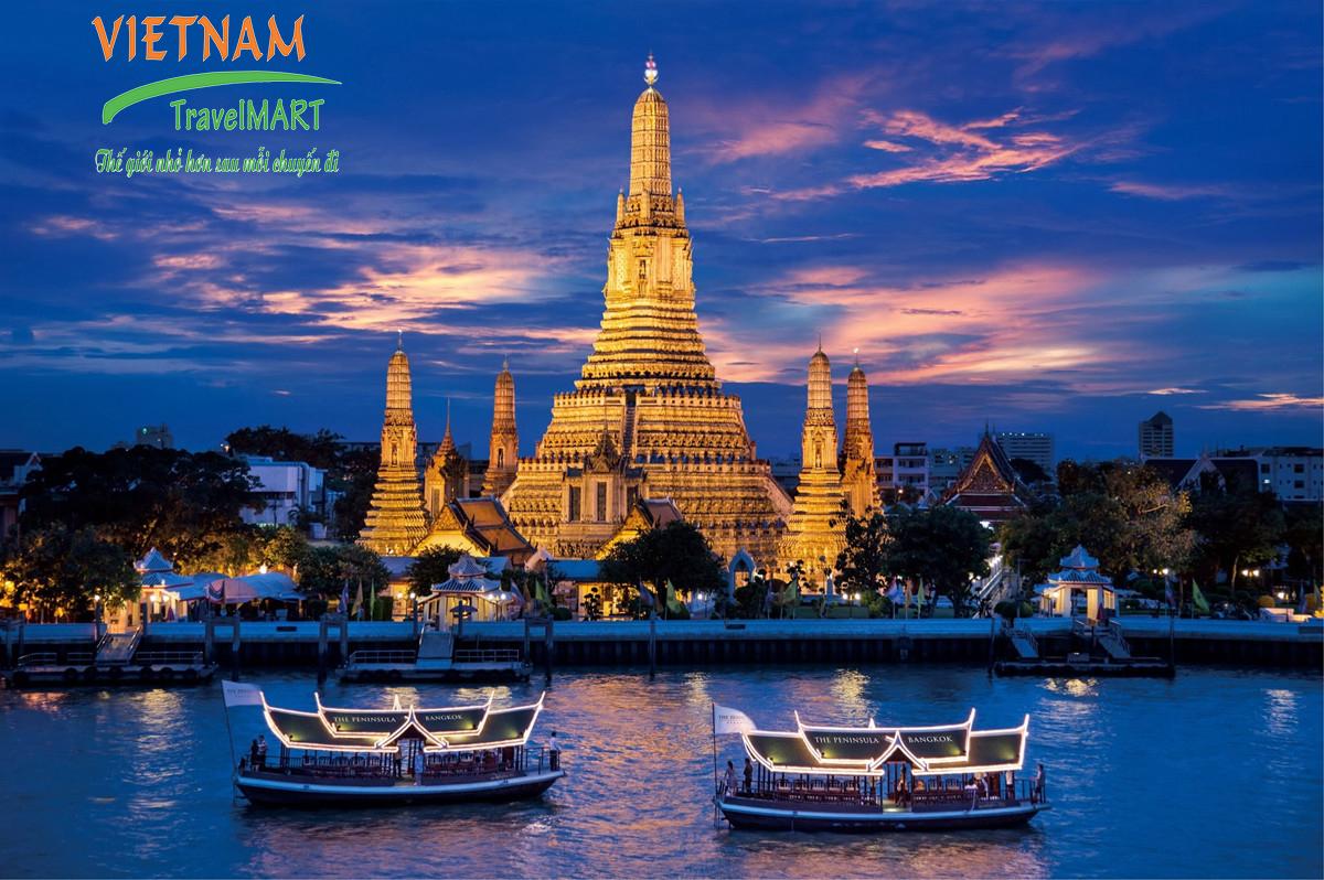 Dạo thuyền Chao Phraya