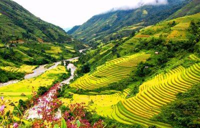 Vùng núi ở Hà Giang