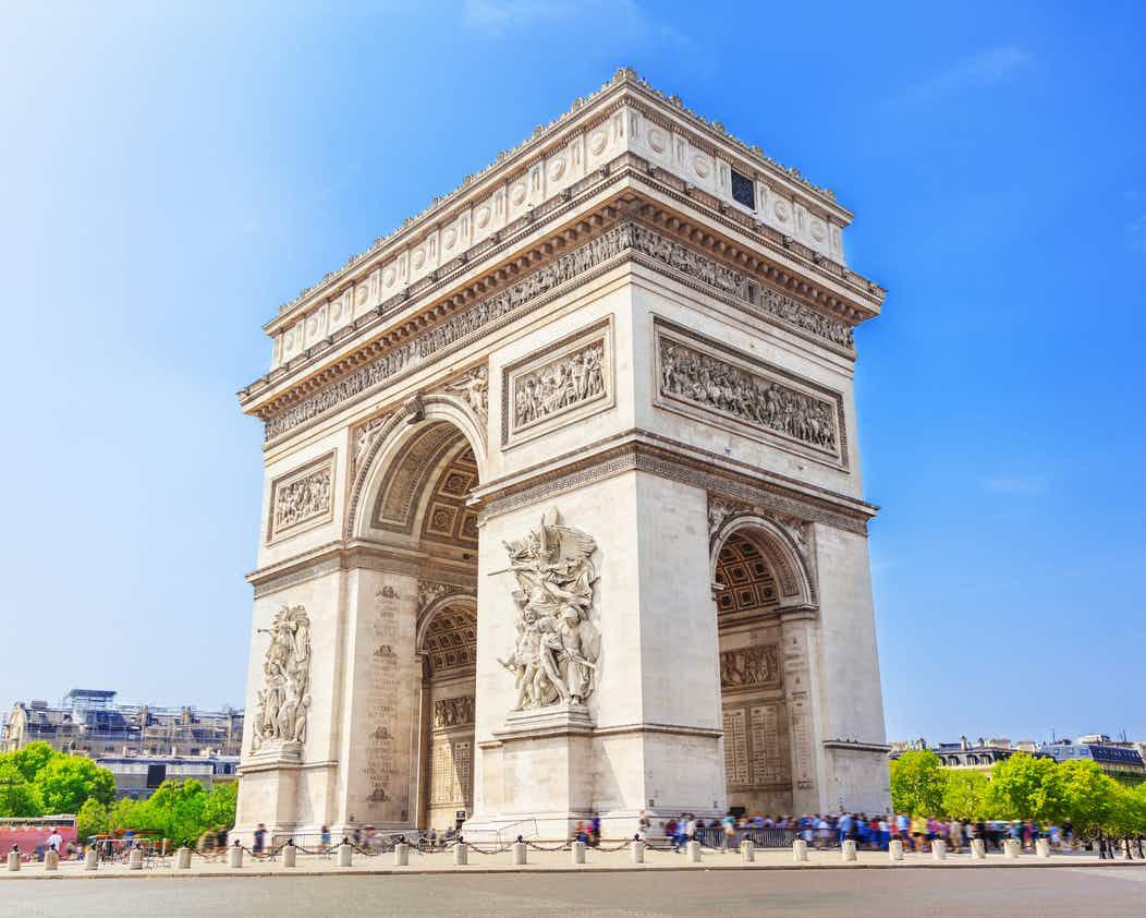 Khải hoàn môn -Arc de Triomphe
