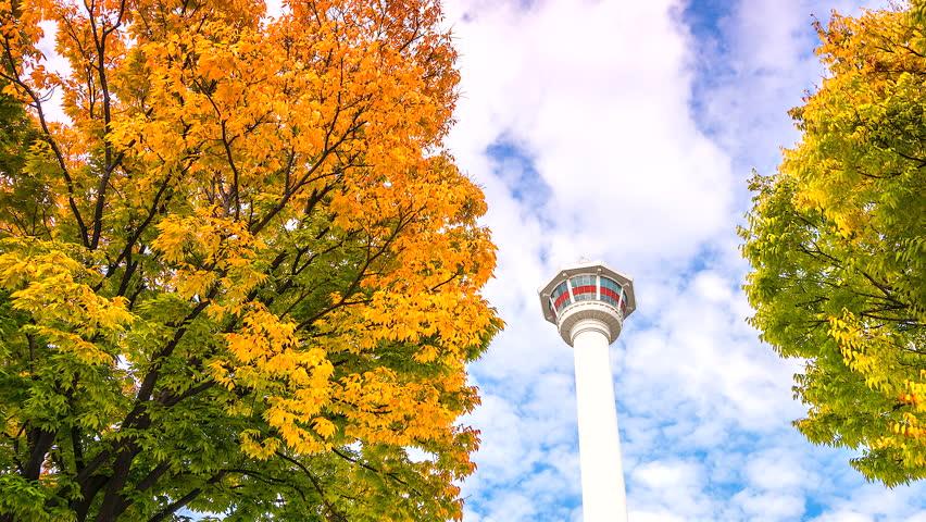 Tháp Namsan - biểu tượng của thủ đô Seoul