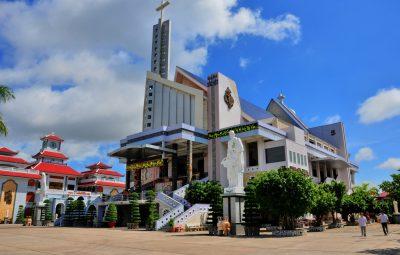 Nhà Thờ Tắc Sậy - nơi thờ phượng Thánh Cha Phanxico Xavie Trương Bửu Diệp
