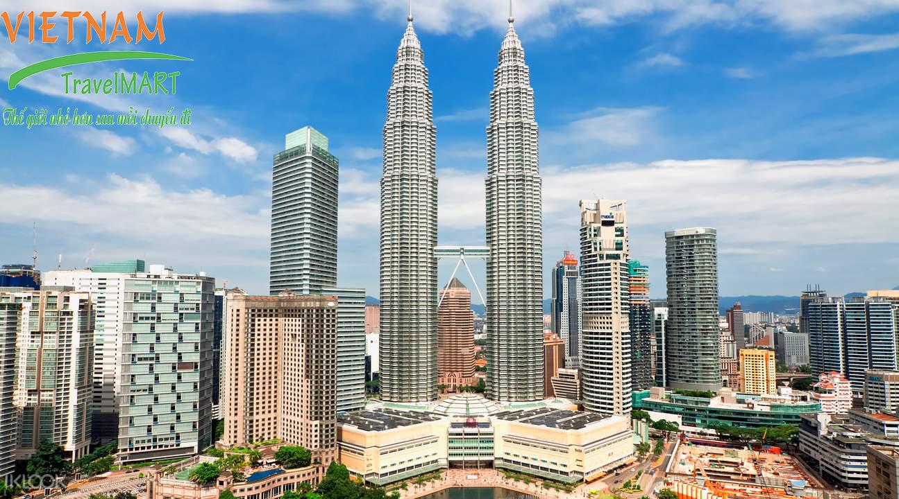 Tòa Tháp Đôi – Petronas Twin Towers