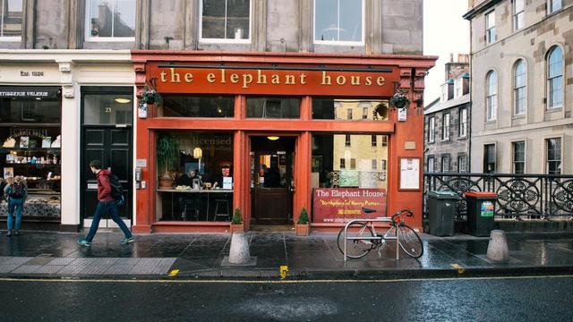 Quán Cà Phê Elephant House
