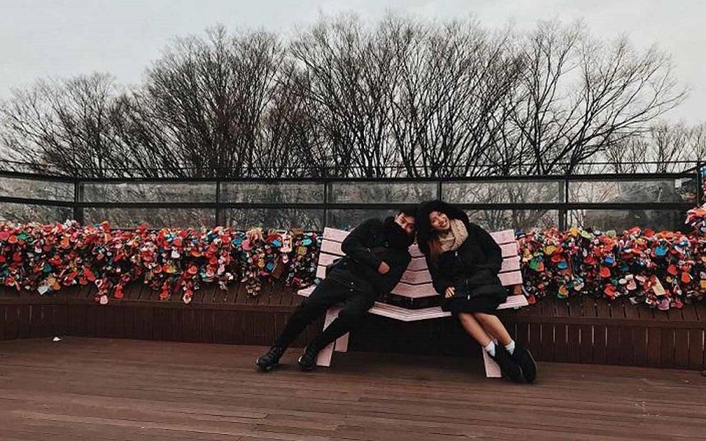Cầu khóa tình yêu ở Namsan