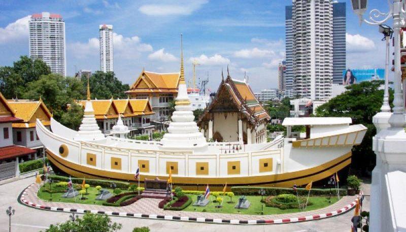Chùa thuyền Wat Yanawa