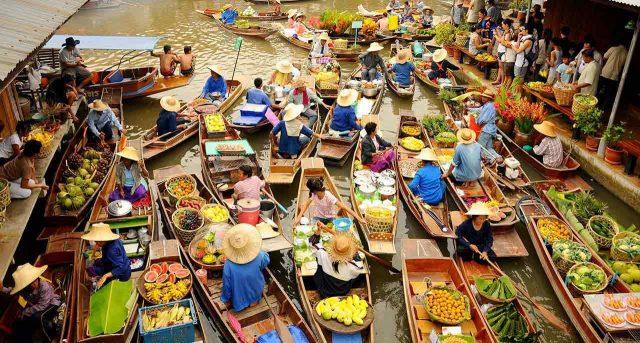 Chợ Nổi Bốn Miền