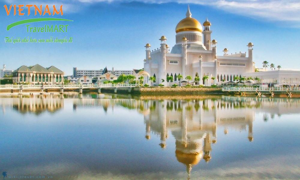 Cung điện Hoàng gai Brunei Istana Nurul Iman