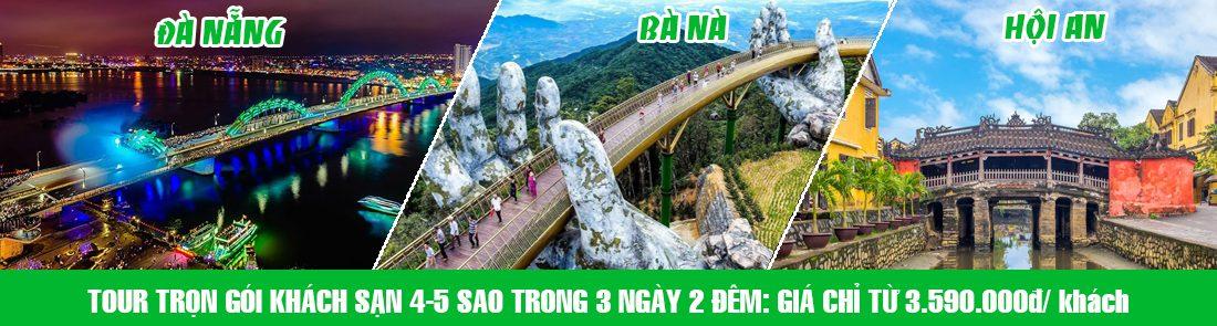 Tour Da Nang Hoi An Ba Na Hill 4-5sao