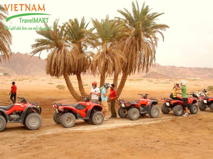 Trải nghiệm lái xe địa hình Sa mạc Safari