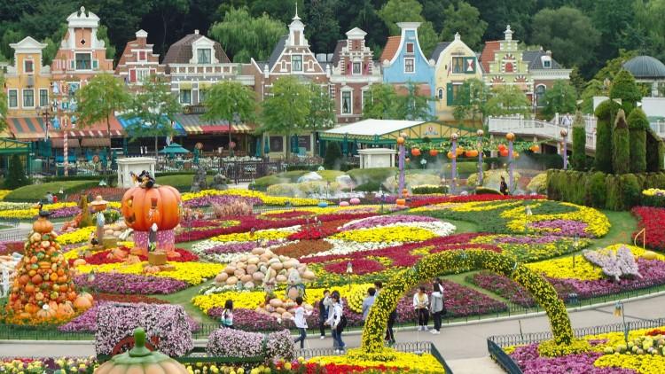 Everland - sự kết hợp tiêu biểu giữa Công viên giải trí và Vườn thú