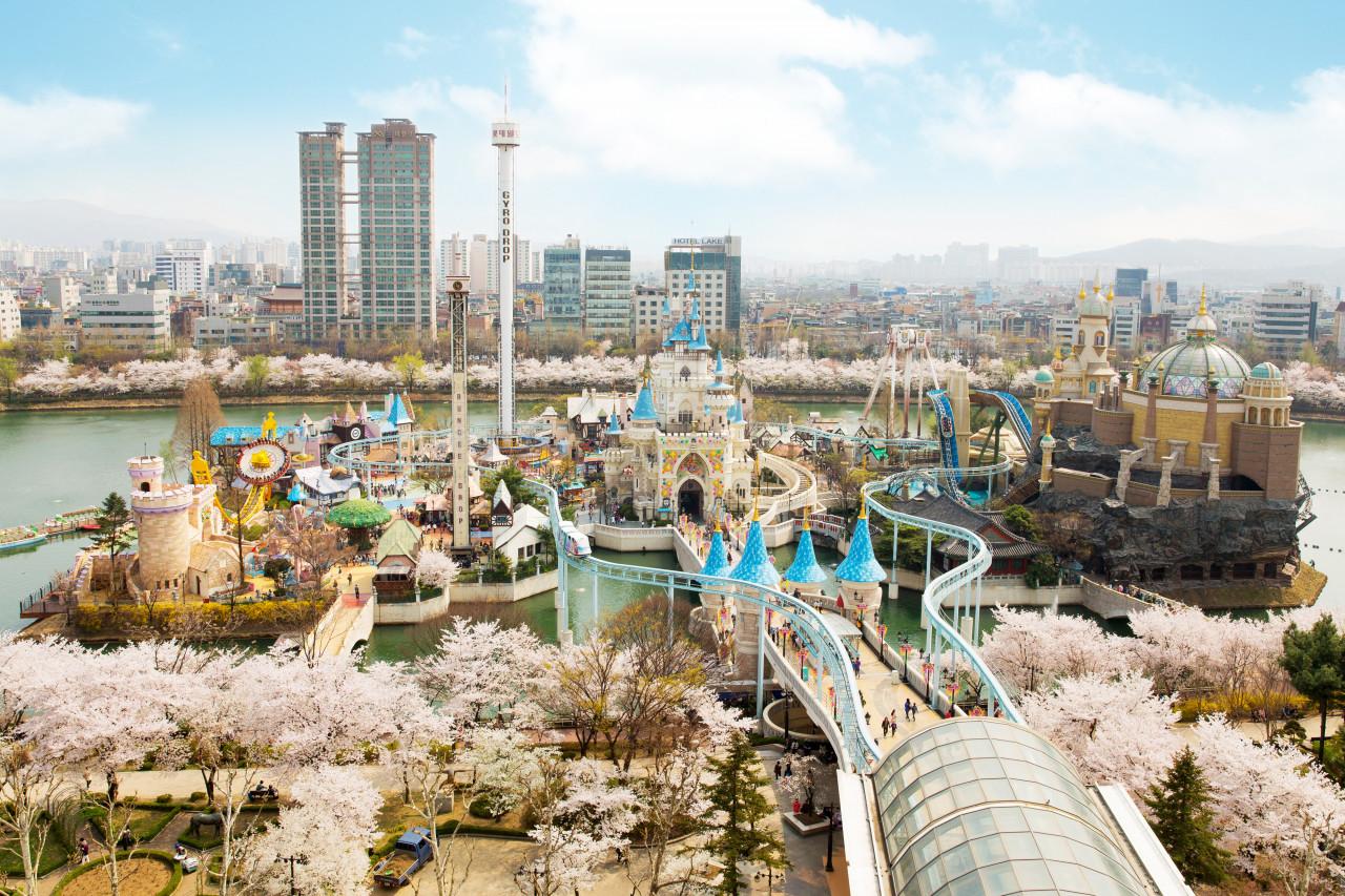 Công viên trong nhà nổi tiếng Thế giới Lotte World