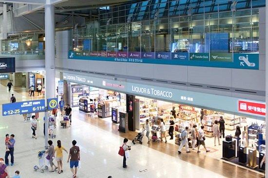 Siêu thị tổng hợp tại sân bay Incheon